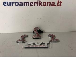 Cobra ženkliukų komplektas (Raudonas)