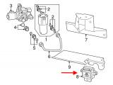 Degalų pompos modulis