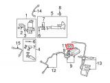 Degalų garavimo sistemos nuotėkio aptikimo siurblys